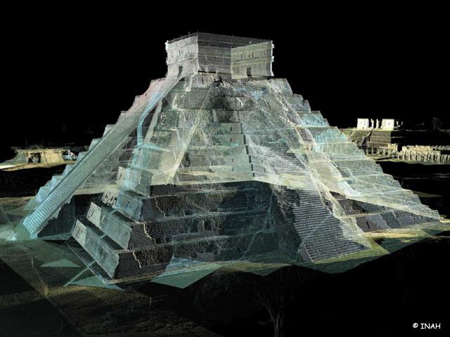 Ciudades sagradas del México Antiguo en 3D