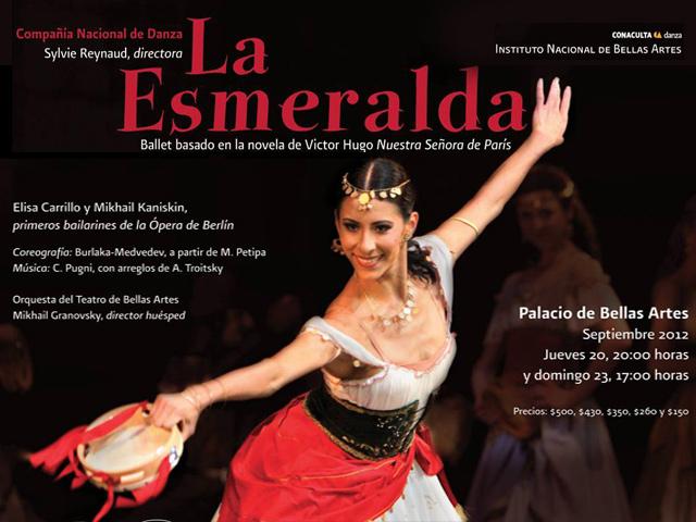 Elisa Carrillo encarnará a la bella gitana Esmeralda