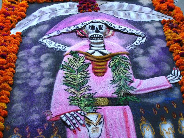 """Mikailhuitl"" Fiesta de Muertos 2012 en Xochimilco"