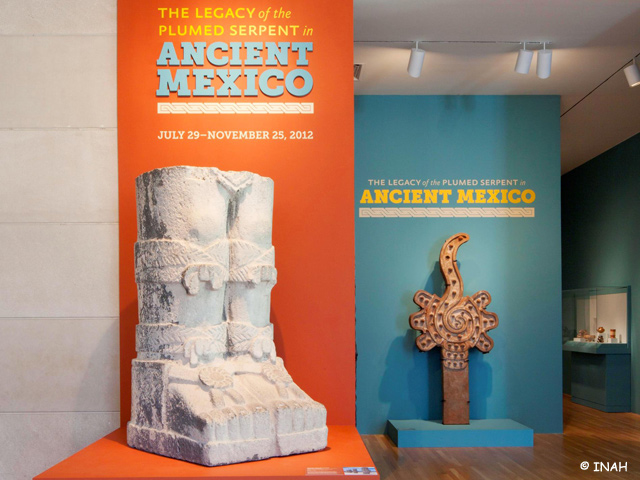 Quetzalcóatl se exhibe en Dallas