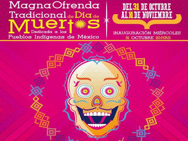 Día de Muertos 2012 en Zócalo y Ciudad de México