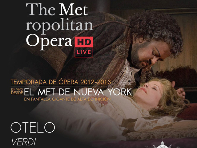 Otelo de Verdi en vivo desde el MET de Nueva York