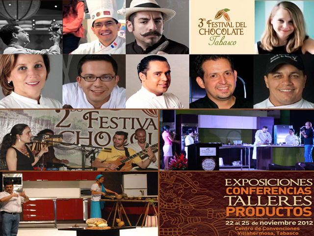 3er Festival del Chocolate en Villahermosa