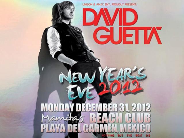 Dj David Guetta despedirá 2012 en Playa del Carmen