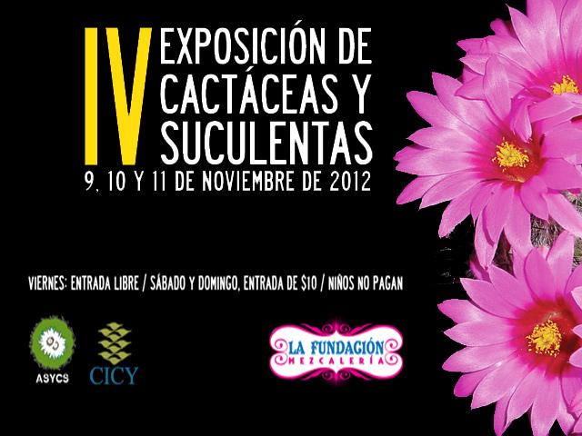 IV Expo Cactáceas y Suculentas en Mérida