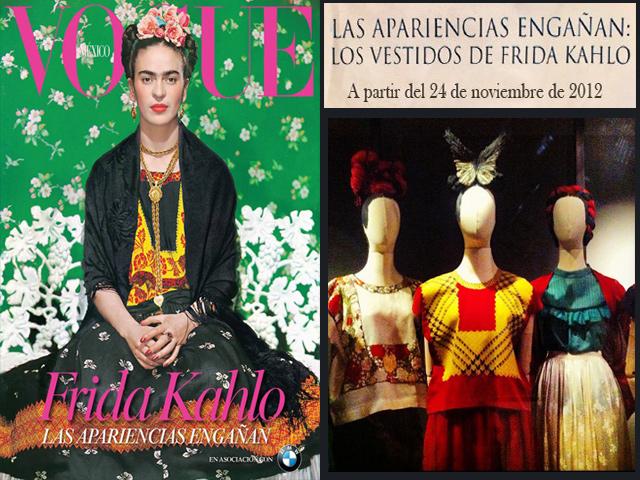 Exhiben los vestidos de Frida Kahlo
