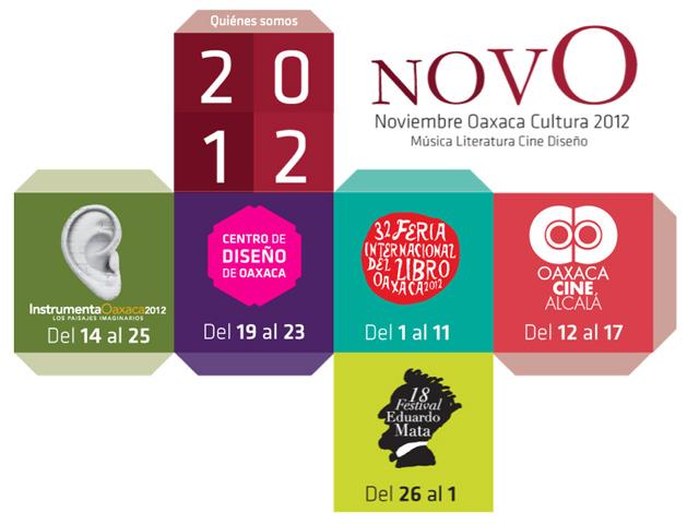 Festival NovO 2012, Noviembre Cultural en Oaxaca