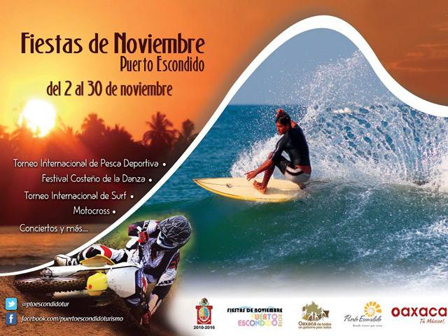 Fiestas de Noviembre 2012 en Puerto Escondido