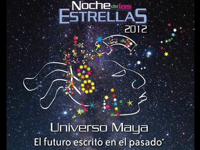 """Noche de las Estrellas 2012 """"Universo Maya"""" en el Zócalo"""