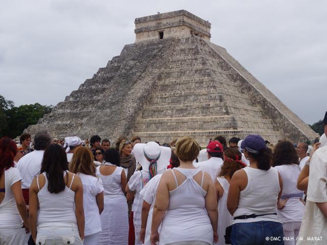 Sitios Arqueológicos más visitados el 21 de diciembre de 2012