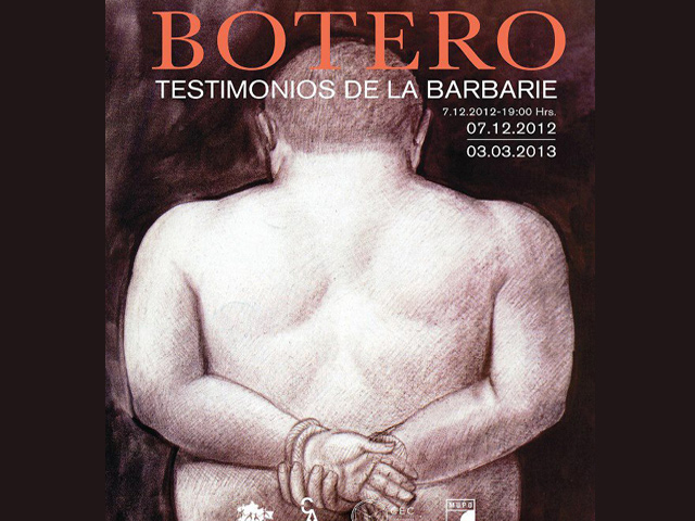 Inauguran exposición de Botero en el MUPO