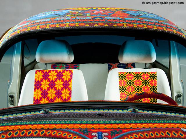 Arte Huichol se exhibe en Alemania
