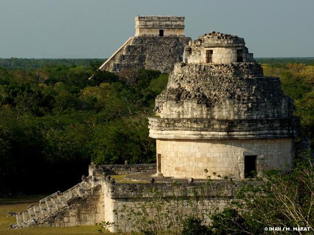 Celebra el fin de ciclo maya en una zona arqueológica