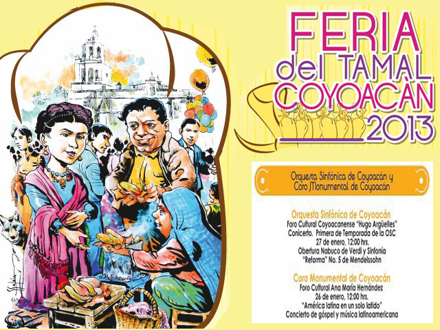 Góspel, Sinfonía, y Feria del Tamal en Coyoacán
