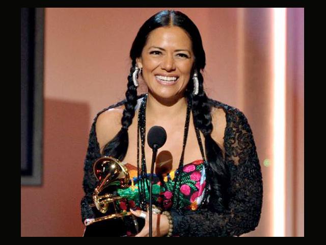 Lila Downs, ganadora de un Grammy en Los Ángeles