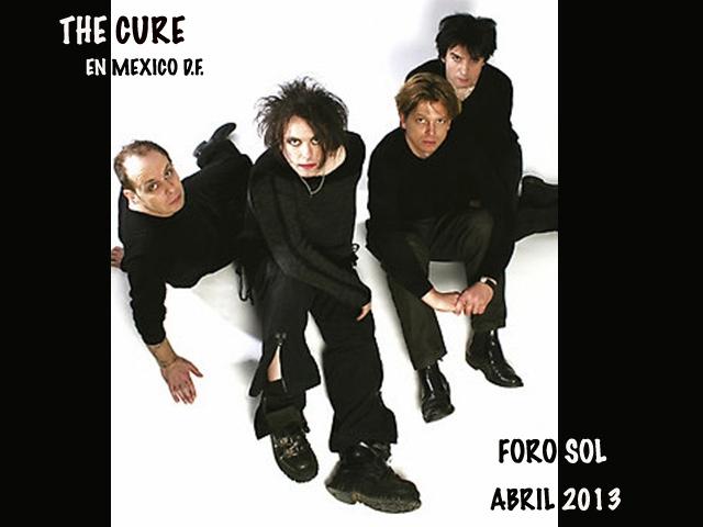 """The Cure """"LatAm 2013 Tour"""" en el Foro Sol"""