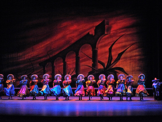 Ballet Folklórico de México en el MNA y el Teatro de la Ciudad