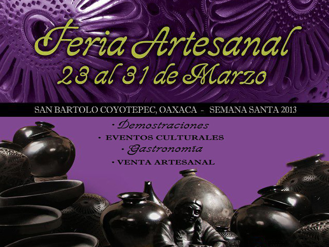 IV Feria Artesanal del Barro Negro en Oaxaca