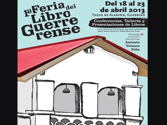 1ª Feria del Libro Guerrerense en Taxco