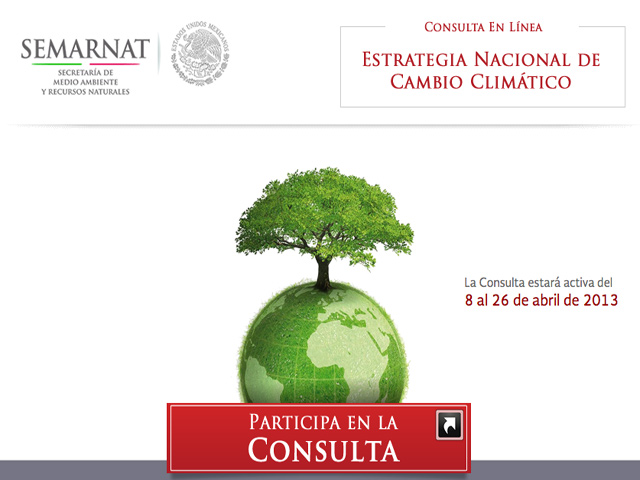 Participa en la Estrategia Nacional de Cambio Climático