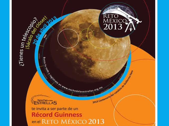 Apunta a la Luna y participa al Reto México 2013