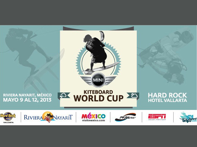 MINI Kiteboard World Cup 2013 en Riviera Nayarit