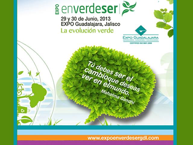 Expo En Verde Ser 2013, la Evolución Verde