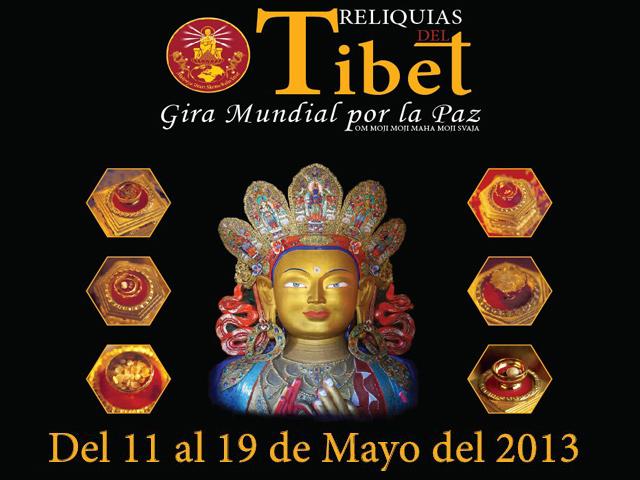 Reliquias del Tibet - Gira Mundial por la Paz llegó a México