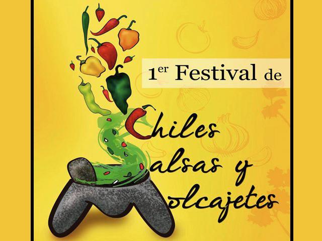 Primer Festival de Chiles, Salsas y Molcajetes 2013