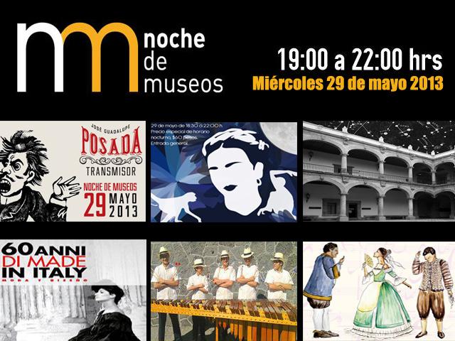 Noche de Museos del 29 de mayo 2013 en el DF