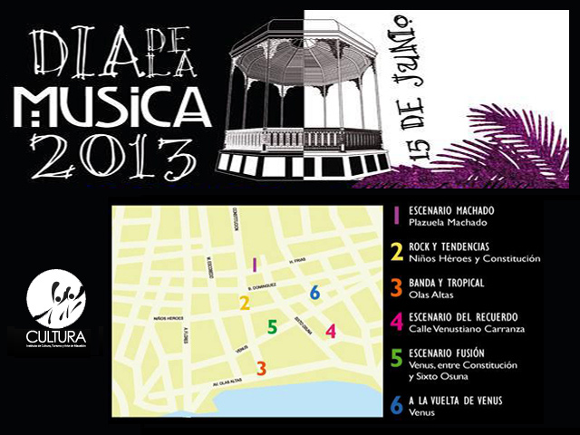 Festival del Día de la Música 2013 en Mazatlán