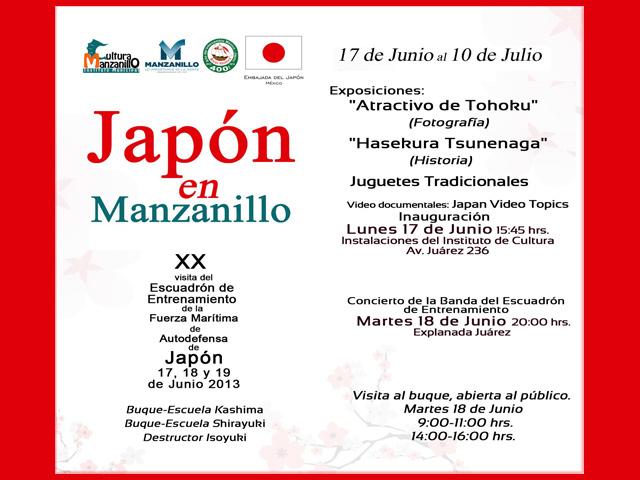 Japón en Manzanillo, a partir del 17 de junio de 2013