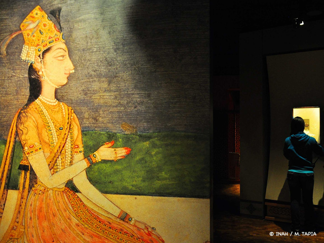 Arte de la India llega al Museo Nacional de Antropología