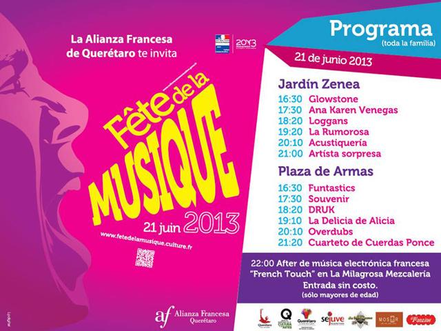 Fiesta de la Música 2013 en Querétaro