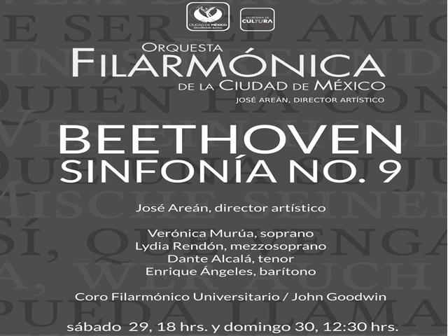 Sinfonía n.º 9 de Beethoven por la OFM este fin de semana