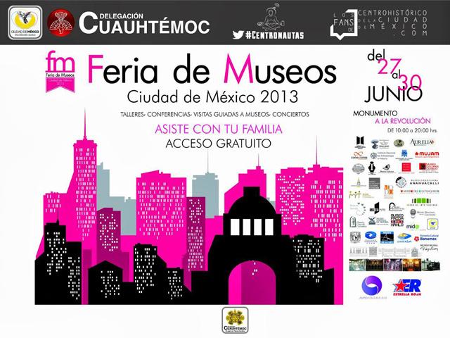 3ª Feria de Museos en la ciudad de México