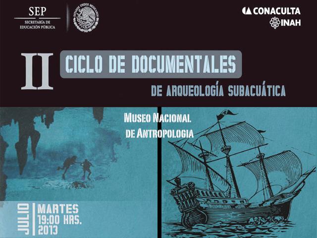 II Ciclo de Documentales de Arqueología Subacuática