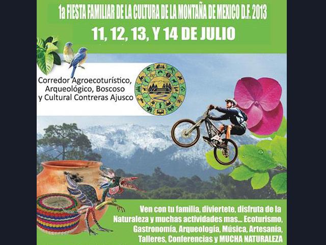 1ª Fiesta Familiar de la Cultura de la Montaña de México D.F.