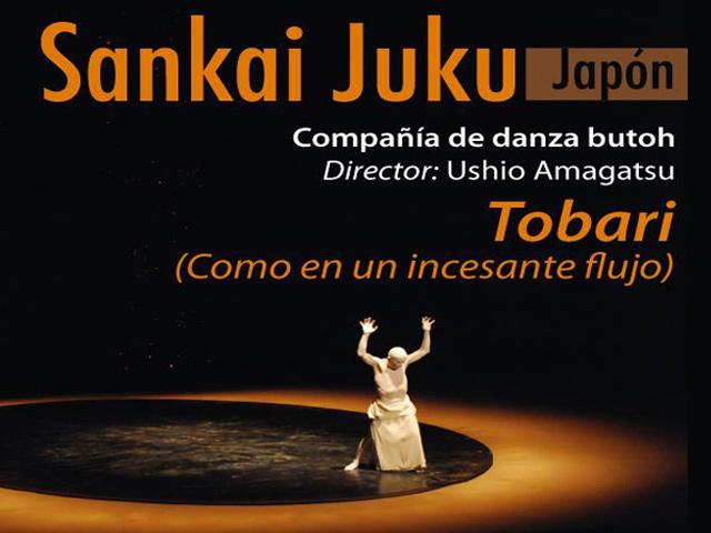 Compañía Sankai Juku de danza Butoh en Bellas Artes