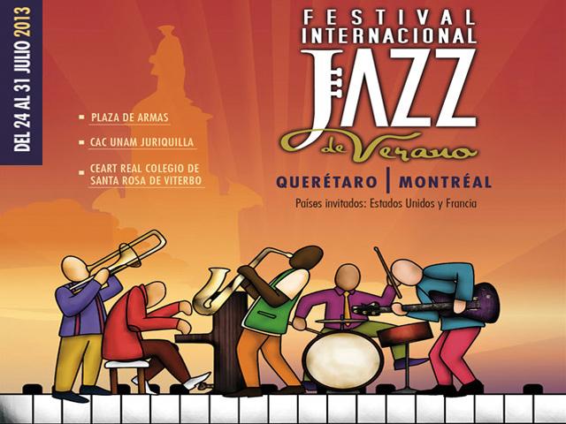 Festival Internacional Jazz de Verano Querétaro-Montréal 2013