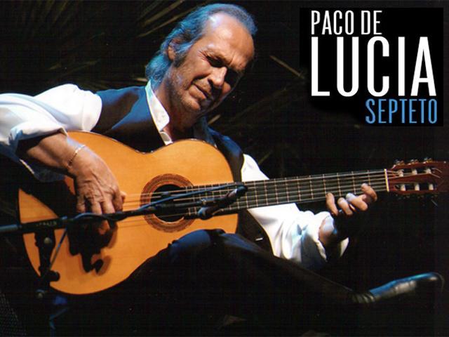 Paco de Lucía & Septeto: Gira 2013 por México