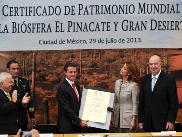 El Pinacate y Gran Desierto de Altar: nuevo Patrimonio Natural en México