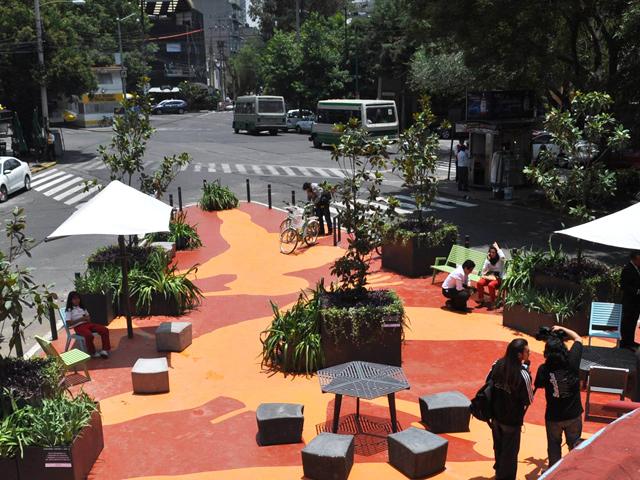Inauguran cuarto Parque de Bolsillo en el D.F.