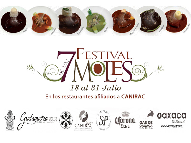 Festival de los siete moles 2013 en la ciudad de Oaxaca