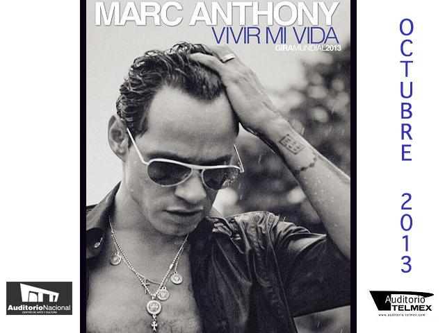 Marc Anthony: Conciertos 2013 en México y Guadalajara