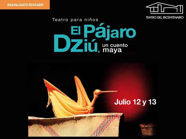 El Pájaro Dziu, cuento Maya para niños en el Teatro del Bicentenario