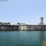 Fortaleza de San Juan de Ulúa desde el Puerto de Veracruz