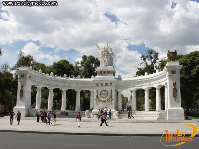 Hemiciclo a Benito Juárez en la ciudad de México