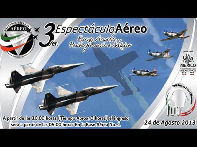 3er Espectáculo Aéreo del Ejército y Fuerza Aérea Mexicanos
