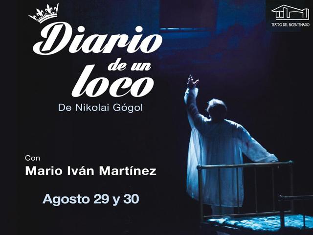 """""""Diario de un loco"""" de Gogol, en el Teatro del Bicentenario"""
